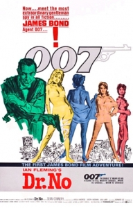 Dr No Poster. Source: http://jamesbond.wikia.com/wiki/File:DrNoposter.jpg