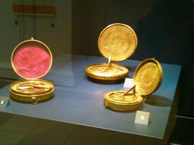 Brass Compasses, Iran, 1800-75. V&A Museum No: 574-1878; 762-1998; 307-1887